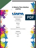 Tarea 1 de Educacion Para La Paz Enercida Rodriguez