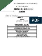 CUADERNILLO Bimestre Uno