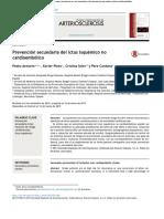 Prevención Secundaria Del Ictus Isquémico No Cardioembólico