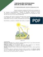 Sistema  Fotovoltaico OFF-GRID cálculo.pdf