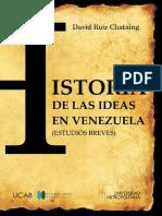 Historia de Las Ideas en Venezuela. LIBRO VIRTUAL