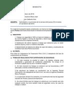 INFORME N° 02 CLIENTE PROTISA
