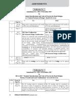 IRC Amendments- January '18