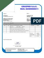 Orden de Compra n 010 - 2017 (Minercos Sac)