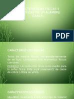 Características Físicas Cable de Red