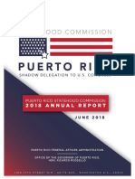 Report - Puerto Rico Statehood Commission - 2018 Annual Report - June 29, 2018 - FINAL