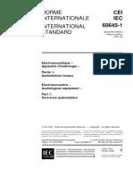 IEC 60645-1{Ed2.0}B_ Audiological Equipment