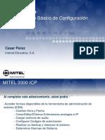 Adiestramiento Mitel 3300 4.0 Configuraciones