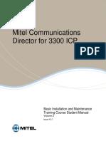 Manual de estudiante Mitel 3300