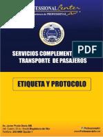 Etiqueta y Protocolo Virtual