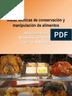 Malas Técnicas de Conservación y Manipulación de Alimentos