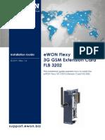 Ig-019-0-En-ewon Flexy - 3g Gsm Extension Card
