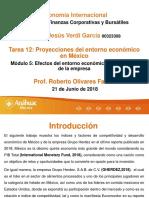 Tarea 12 Proyecciones Del Entorno Económico en México-2