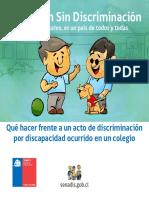 Diptico Educacion Sin Discriminacion