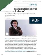 """""""La sexualidad es ineludible"""