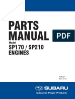 Subaru Engines Sp170 Sp210 Parts