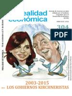 El Sector Externo 2003 2015