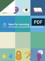 Keys for Learning - Summary Document