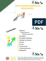 Simulacion de Gerencia de Operaciones