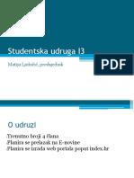 Studentska udruga I3
