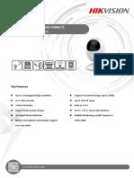 Especificaciones Tecnicas DS 2CV2U01FD IW