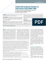 2006 Cervical Cancer Associated With Pregnancy Results of a Multicenter Retrospective Korean Study