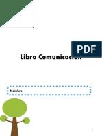 Libro Comunicación  Pre escolar