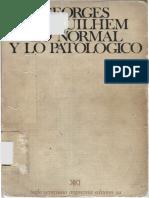 Canguilhem Georges - Lo Normal Y Lo Patologico.pdf