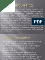 Texto Lingüístico