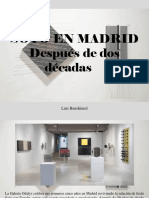Luis Benshimol - Soto en Madrid Después de Dos Décadas