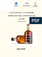 Analiza de Situatie Alcool 2018