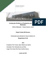 Contenção Periférica e Fundações Por Estacas