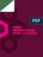 Parlons de la France - 20 propositions pour la France