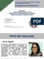 Módulo de NCF e ITBIS - ICPARD San Francisco de Macoris - Nov 2016