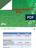 Comparaison Tarif FO vs FO1