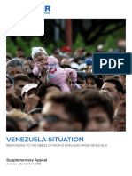 Unhcr Venezuela Situation 2018 Supplementary Appeal