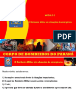 Módulo 2 - PSI 2015 - O Bombeiro Militar Em Situações de Emergência