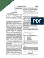 DECRETO SUPREMO N° 005-2012-TR. Reglamento Ley S.S.T.