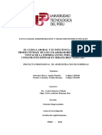 CLIMA LABORAL - SEMINARIO