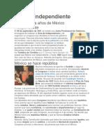 México Independiente.docx