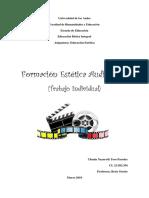 Trabajo Formacion Estetica Audiovisual