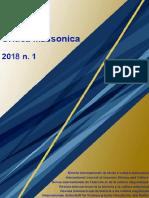 Critica Massonica n 1 - Gen 2018 in Pubblicazione