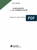 Searle, La Construccion de La Realidad Social (Selecciones)