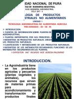 Tec de Los Prods Agroinds No Alimentarios Cap i 2017 II 17 10 17 [Autoguardado]