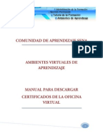 Manual Para Descargar de Certificados Del Sistema Sena