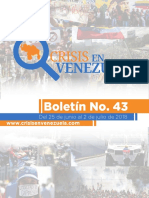 """Provea presentó boletín """"Crisis en Venezuela"""" (Informe)"""