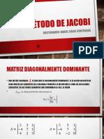 Metodo de Jacobi