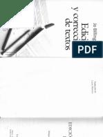 Jo Billingham, Edición y Corrección de Textos