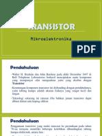 Tayangan Transistor