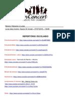 Ordem Das Músicas - Certa (1)